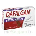 DAFALGAN ADULTES 600 mg, suppositoire à Paris