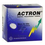 ACTRON, comprimé effervescent à Paris