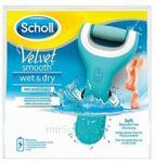 Scholl Velvet Smooth Wet & Dry Râpe Rechargeable à Paris
