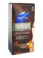 PHYTOCOLOR COLORATION PERMANENTE PHYTO BLOND FONCE CUIVRE 6C à Paris