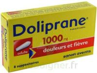 DOLIPRANE ADULTES 1000 mg, suppositoire à Paris