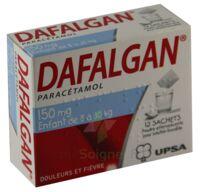 DAFALGAN 150 mg, poudre effervescente pour solution buvable en sachet à Paris