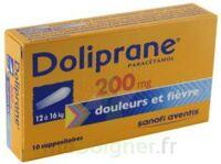 DOLIPRANE 200 mg, suppositoire à Paris