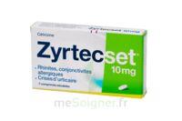 ZYRTECSET 10 mg, comprimé pelliculé sécable à Paris