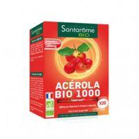 Santarome Bio Acérola 1000 Comprimés à croquer 2T/10 à Paris