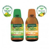 Ultradraine Bio Solution buvable Thé vert citron Fl/500ml à Paris