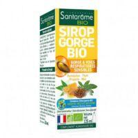 Santarome Bio Sirop gorge Fl/125ml à Paris