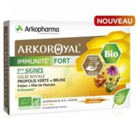 Arkoroyal Immunité Fort Solution buvable 20 Ampoules/10ml à Paris