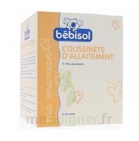 Bébisol Coussinets d'allaitement jetables ultra-absorbants / Boîte de 30 à Paris