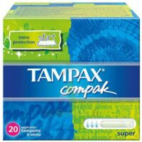 TAMPAX COMPAK SUPER x 20 à Paris