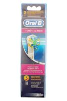 Brossette De Rechange Oral-b Floss Action X 3 à Paris