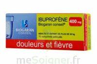 IBUPROFENE BIOGARAN CONSEIL 400 mg, comprimé pelliculé à Paris