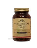 SOLGAR VITAMINE D3 à Paris