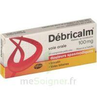 DEBRICALM 100 mg, comprimé pelliculé à Paris