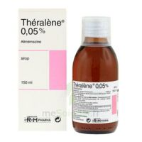 THERALENE 0,05 POUR CENT, sirop à Paris