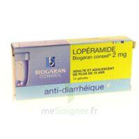LOPERAMIDE BIOGARAN CONSEIL 2 mg, gélule à Paris