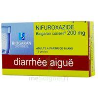 NIFUROXAZIDE BIOGARAN CONSEIL 200 mg, gélule à Paris