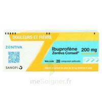 IBUPROFENE ZENTIVA CONSEIL 200 mg, comprimé pelliculé à Paris