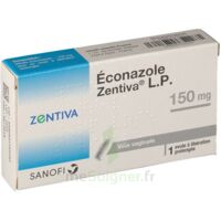 ECONAZOLE ZENTIVA LP 150 mg, ovule à libération prolongée à Paris