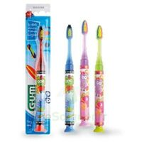 GUM TIMER LIGHT Brosse dents 7-9ans