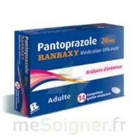 PANTOPRAZOLE RANBAXY MEDICATION OFFICINALE 20 mg Cpr gastro-rés Plq/14 à Paris
