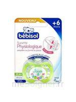 BEBISOL SLIM Sucette physiologique silicone jour T2 à Paris