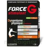 FORCE G STIMULANT, bt 10 à Paris