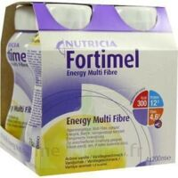 FORTIMEL ENERGY MULTI FIBRE, 200 ml, pack 4 à Paris