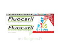 Fluocaril Kids Gel dentifrice Fraise 0/6ans 2*50ml à Paris