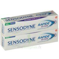 Sensodyne Rapide Pâte Dentifrice Dents Sensibles 2*75ml à Paris