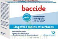 Baccide Lingette désinfectante mains & surface 12 Pochettes à Paris