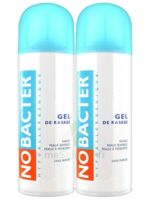 Nobacter Gel De Rasage Peau Sensible 2*150ml à Paris