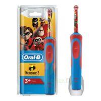 Oral B Incredibles 2 Brosse dents électrique enfant 3ans et+ à Paris