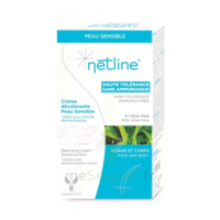 Netline Crème Visage/corps Décolorante Peau Sensible 30+30ml à Paris