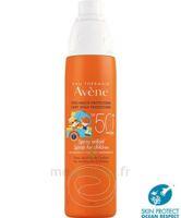 Avène Eau Thermale Solaire Spray Enfant 50+ 200ml à Paris