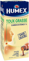HUMEX 5 % Solution buvable expectorant sans sucre adulte Fl/250ml à Paris